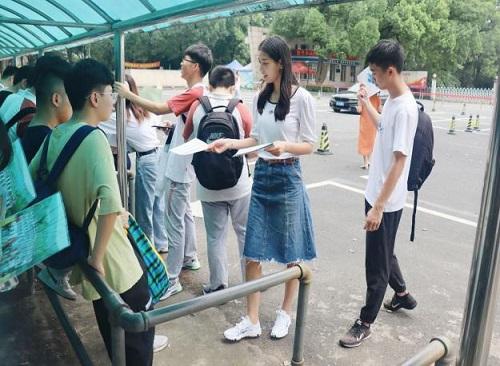 南京农业大学暑假实践团队前往浙江招生实践